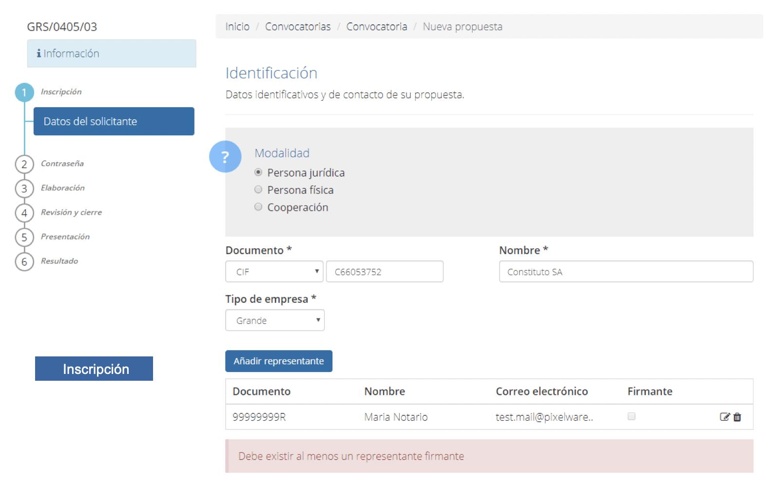 05-licitación-electrónica-inscripción de la empresa