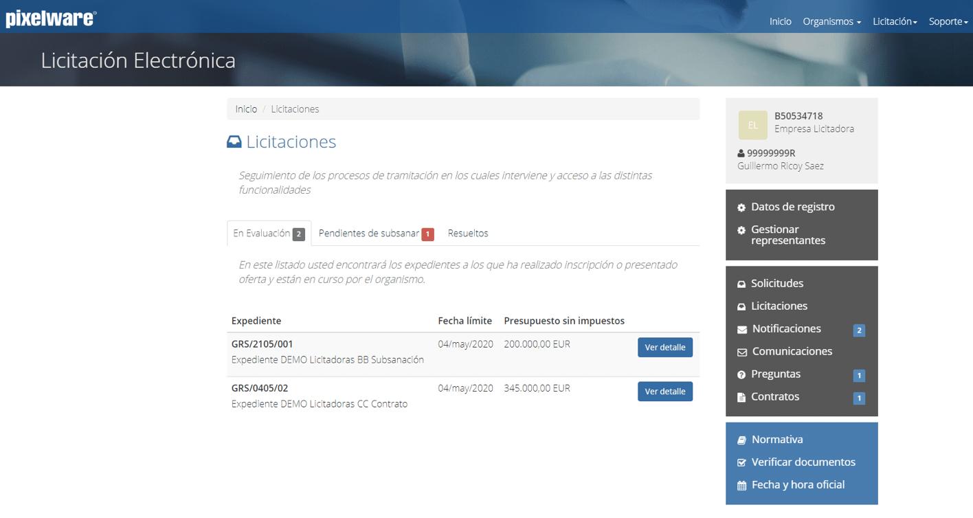 12-plataforma de licitación electrónica-zona-privada