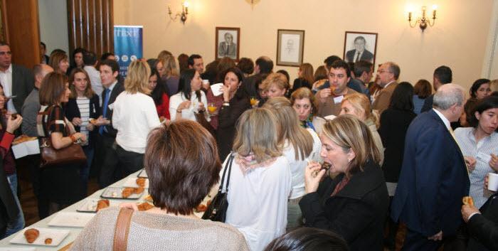 SOCINFO 2017 Asistentes en la pausa