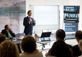 José Carlos Pérez Berengena la Jornada Técnica sobre la nueva Ley Contratos Sector Público