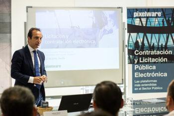 Safwan Nassri en la Jornada Técnica sobre la nueva Ley Contratos Sector Público