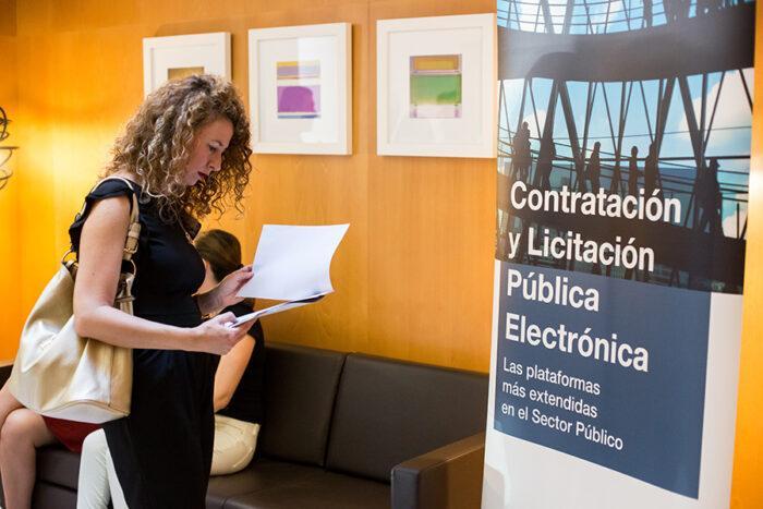 Llegada a la Jornada Técnica sobre la nueva Ley Contratos Sector Público