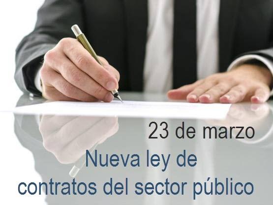Nueva ley de contratos del sector público=